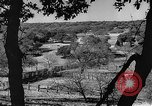 Image of texas ranch lifestyle mid 1940s Kerrville Texas USA, 1945, second 8 stock footage video 65675053501