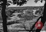 Image of texas ranch lifestyle mid 1940s Kerrville Texas USA, 1945, second 12 stock footage video 65675053501