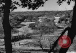 Image of texas ranch lifestyle mid 1940s Kerrville Texas USA, 1945, second 15 stock footage video 65675053501