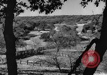 Image of texas ranch lifestyle mid 1940s Kerrville Texas USA, 1945, second 17 stock footage video 65675053501