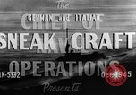 Image of sneak craft United States USA, 1945, second 17 stock footage video 65675053510