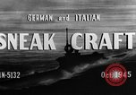 Image of sneak craft United States USA, 1945, second 18 stock footage video 65675053510