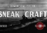 Image of sneak craft United States USA, 1945, second 22 stock footage video 65675053510
