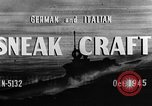 Image of sneak craft United States USA, 1945, second 25 stock footage video 65675053510