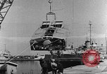 Image of Italian MTSM and German Wendel sneak craft torpedo explosive boats United States USA, 1945, second 2 stock footage video 65675053514