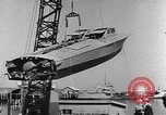 Image of Italian MTSM and German Wendel sneak craft torpedo explosive boats United States USA, 1945, second 10 stock footage video 65675053514