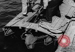 Image of Italian MTSM and German Wendel sneak craft torpedo explosive boats United States USA, 1945, second 31 stock footage video 65675053514