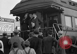Image of President Roosevelt arriving at the Little White House Georgia United States USA, 1935, second 2 stock footage video 65675053527