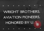 Image of Orville Wright Washington DC USA, 1943, second 1 stock footage video 65675053536