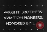 Image of Orville Wright Washington DC USA, 1943, second 5 stock footage video 65675053536