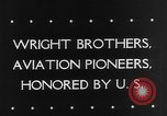 Image of Orville Wright Washington DC USA, 1943, second 6 stock footage video 65675053536
