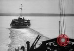 Image of Ice breaker Mackinaw Lake Michigan United States USA, 1945, second 24 stock footage video 65675053544