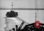 Image of Ice breaker Mackinaw Lake Michigan United States USA, 1945, second 26 stock footage video 65675053544