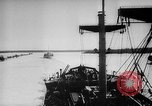 Image of Ice breaker Mackinaw Lake Michigan United States USA, 1945, second 36 stock footage video 65675053544