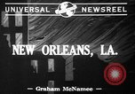 Image of Firemen New Orleans Louisiana USA, 1941, second 2 stock footage video 65675053550