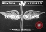 Image of Wendell Wilkie London England United Kingdom, 1941, second 2 stock footage video 65675053554
