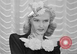 Image of Models New York City USA, 1941, second 21 stock footage video 65675053555