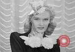 Image of Models New York City USA, 1941, second 23 stock footage video 65675053555