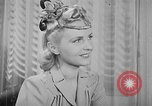 Image of Models New York City USA, 1941, second 27 stock footage video 65675053555