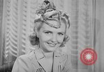 Image of Models New York City USA, 1941, second 29 stock footage video 65675053555