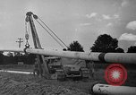 Image of Gas pipeline Baton Rouge Louisiana USA, 1941, second 12 stock footage video 65675053577