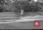 Image of water skiing Miami Florida USA, 1942, second 20 stock footage video 65675053585