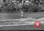 Image of water skiing Miami Florida USA, 1942, second 21 stock footage video 65675053585