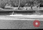 Image of water skiing Miami Florida USA, 1942, second 32 stock footage video 65675053585