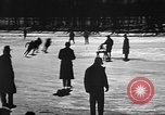 Image of Ice skating La Crosse Wisconsin USA, 1942, second 14 stock footage video 65675053586