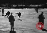 Image of Ice skating La Crosse Wisconsin USA, 1942, second 16 stock footage video 65675053586