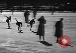 Image of Ice skating La Crosse Wisconsin USA, 1942, second 37 stock footage video 65675053586