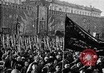 Image of Red Army soldiers headed toward Poland Moscow Russia Soviet Union, 1919, second 1 stock footage video 65675053618