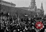 Image of Red Army soldiers headed toward Poland Moscow Russia Soviet Union, 1919, second 8 stock footage video 65675053618