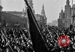 Image of Red Army soldiers headed toward Poland Moscow Russia Soviet Union, 1919, second 10 stock footage video 65675053618