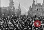 Image of Red Army soldiers headed toward Poland Moscow Russia Soviet Union, 1919, second 11 stock footage video 65675053618