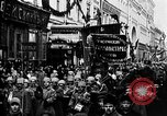 Image of Red Army soldiers headed toward Poland Moscow Russia Soviet Union, 1919, second 12 stock footage video 65675053618