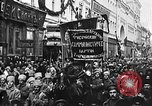 Image of Red Army soldiers headed toward Poland Moscow Russia Soviet Union, 1919, second 15 stock footage video 65675053618