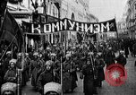 Image of Red Army soldiers headed toward Poland Moscow Russia Soviet Union, 1919, second 27 stock footage video 65675053618