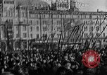 Image of Red Army soldiers headed toward Poland Moscow Russia Soviet Union, 1919, second 36 stock footage video 65675053618
