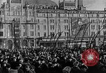 Image of Red Army soldiers headed toward Poland Moscow Russia Soviet Union, 1919, second 37 stock footage video 65675053618