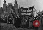 Image of Red Army soldiers headed toward Poland Moscow Russia Soviet Union, 1919, second 39 stock footage video 65675053618