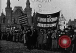 Image of Red Army soldiers headed toward Poland Moscow Russia Soviet Union, 1919, second 40 stock footage video 65675053618