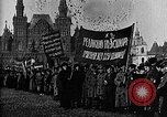 Image of Red Army soldiers headed toward Poland Moscow Russia Soviet Union, 1919, second 42 stock footage video 65675053618