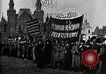Image of Red Army soldiers headed toward Poland Moscow Russia Soviet Union, 1919, second 43 stock footage video 65675053618
