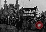 Image of Red Army soldiers headed toward Poland Moscow Russia Soviet Union, 1919, second 44 stock footage video 65675053618