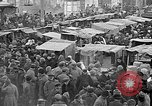 Image of Open air market  Moscow Russia Soviet Union, 1924, second 15 stock footage video 65675053624