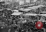 Image of Open air market  Moscow Russia Soviet Union, 1924, second 17 stock footage video 65675053624