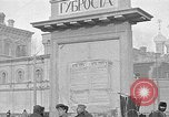 Image of Open air market  Moscow Russia Soviet Union, 1924, second 51 stock footage video 65675053624
