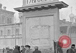 Image of Open air market  Moscow Russia Soviet Union, 1924, second 52 stock footage video 65675053624