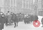 Image of snow covered roads Saint Petersburg Russia, 1920, second 40 stock footage video 65675053630